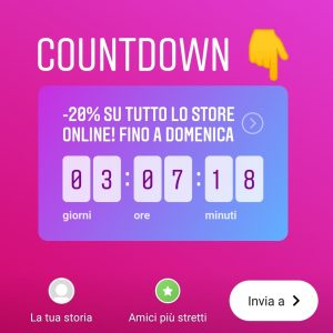 instagram countdown